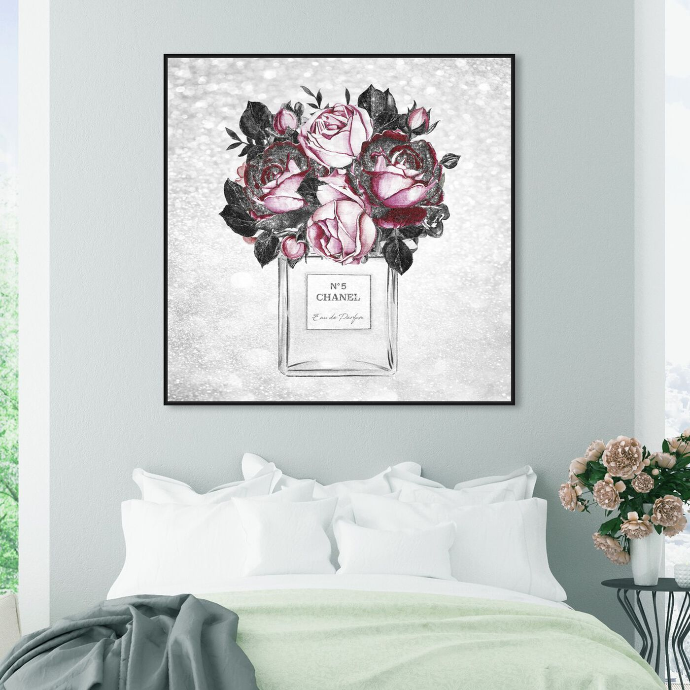 Hanging view of Doll Memories - Touch of Rose Scent featuring fashion and glam and perfumes art.