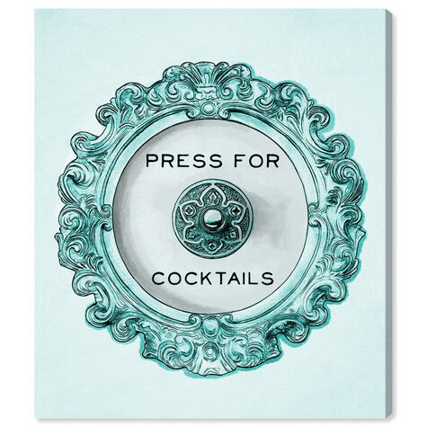 Press For Cocktails Blue Peacock