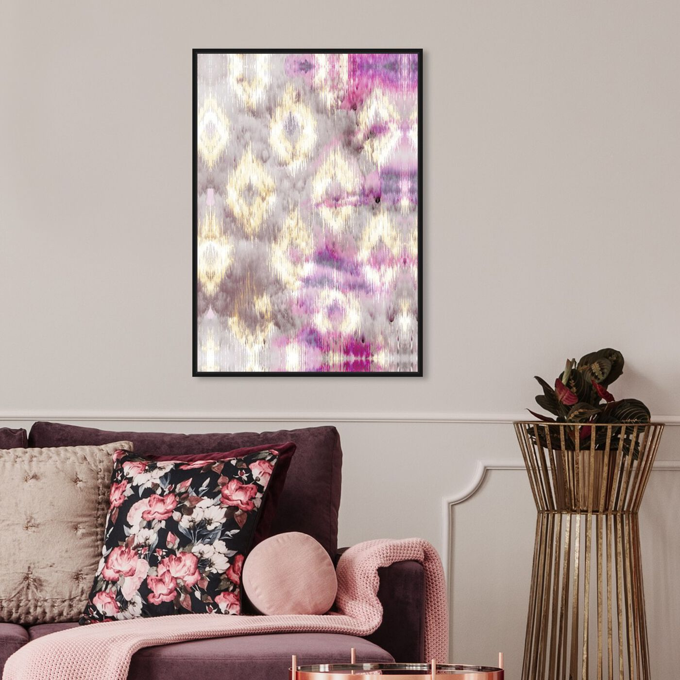 Hanging view of Altaria featuring abstract and patterns art.