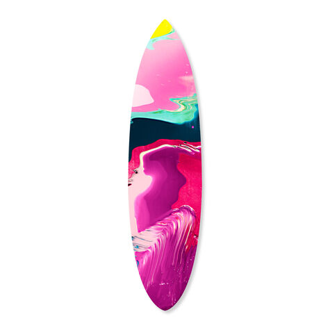 Surreal Dreams Surfboard Flat