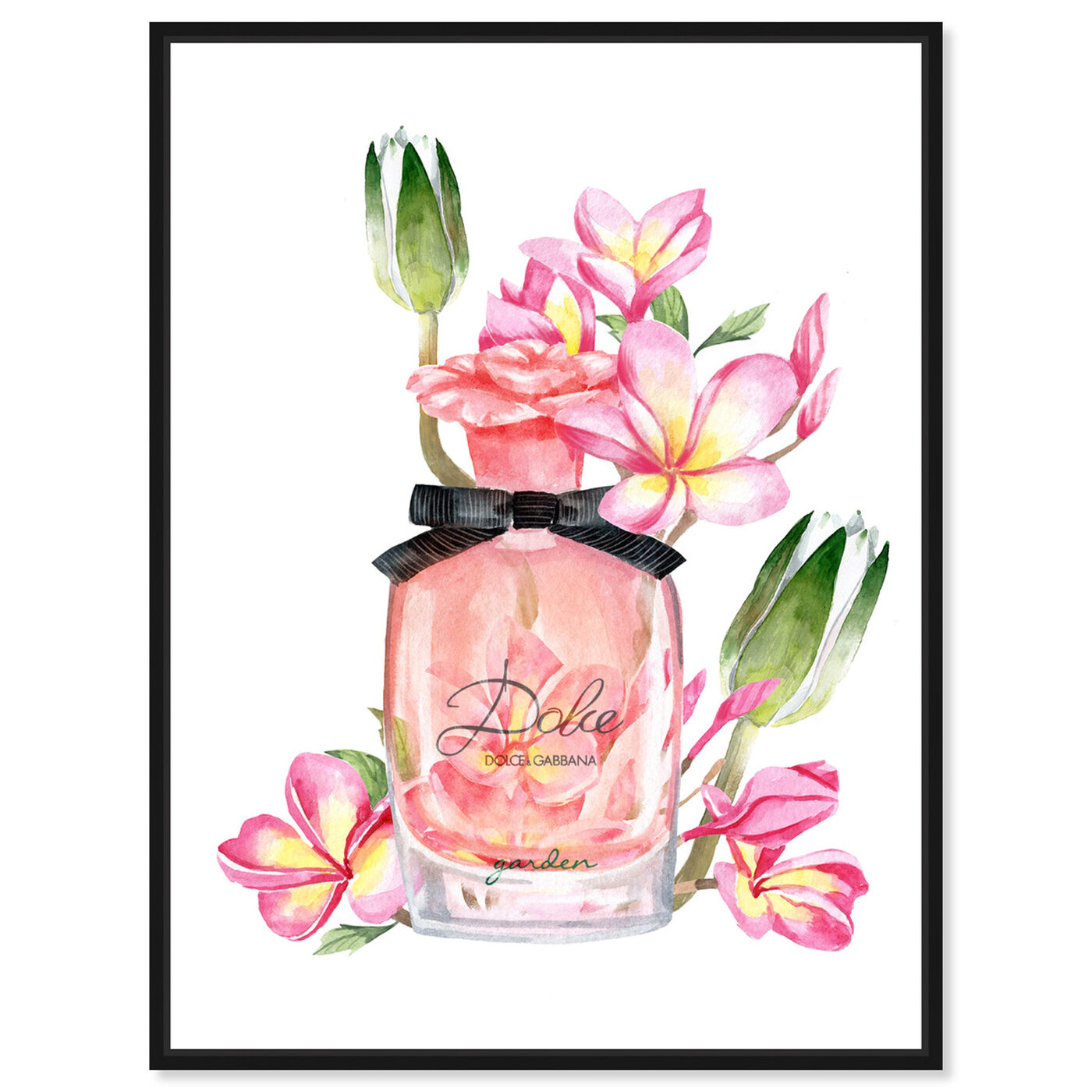 Front view of Garden Leaf Perfume featuring fashion and glam and perfumes art.