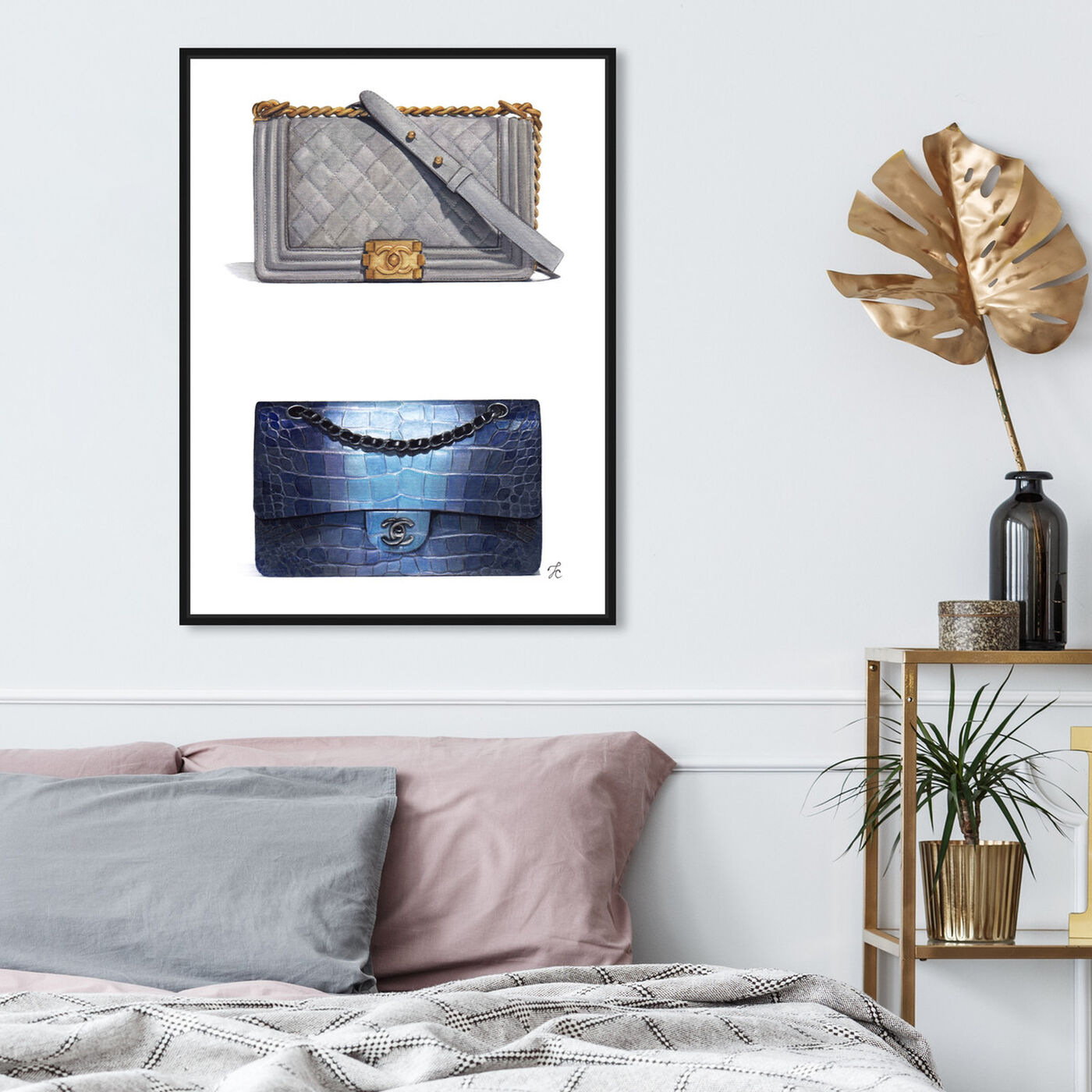 Hanging view of Doll Memories - Course of Style featuring fashion and glam and handbags art.