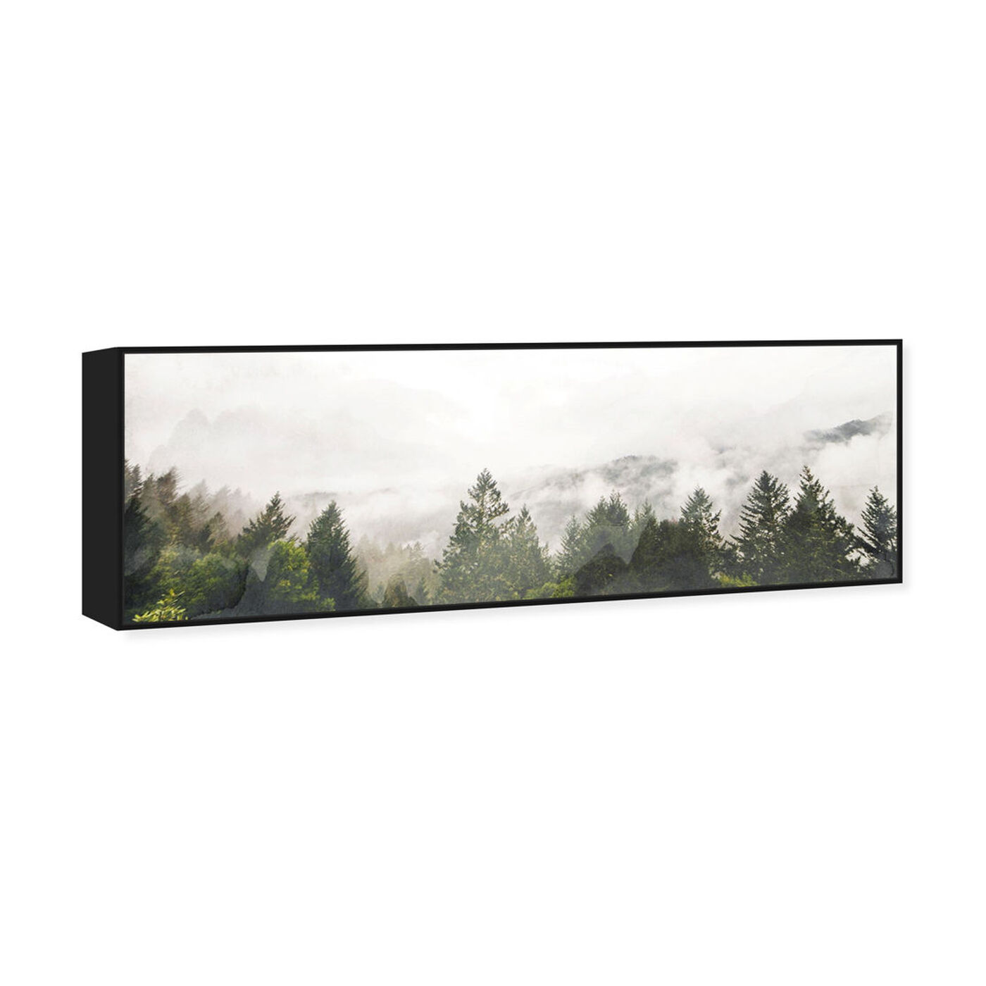 Angled view of Look Out There featuring nature and landscape and forest landscapes art.