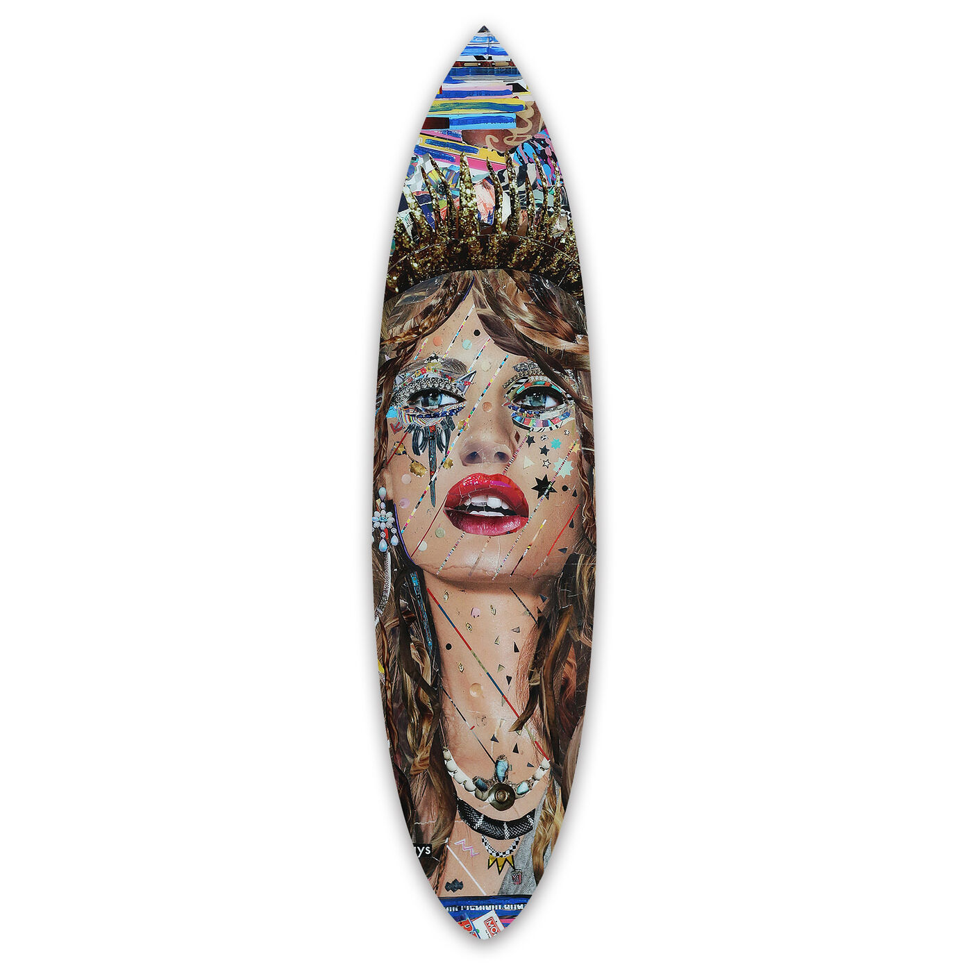 Katy Hirschfeld - Heroes Surfboard