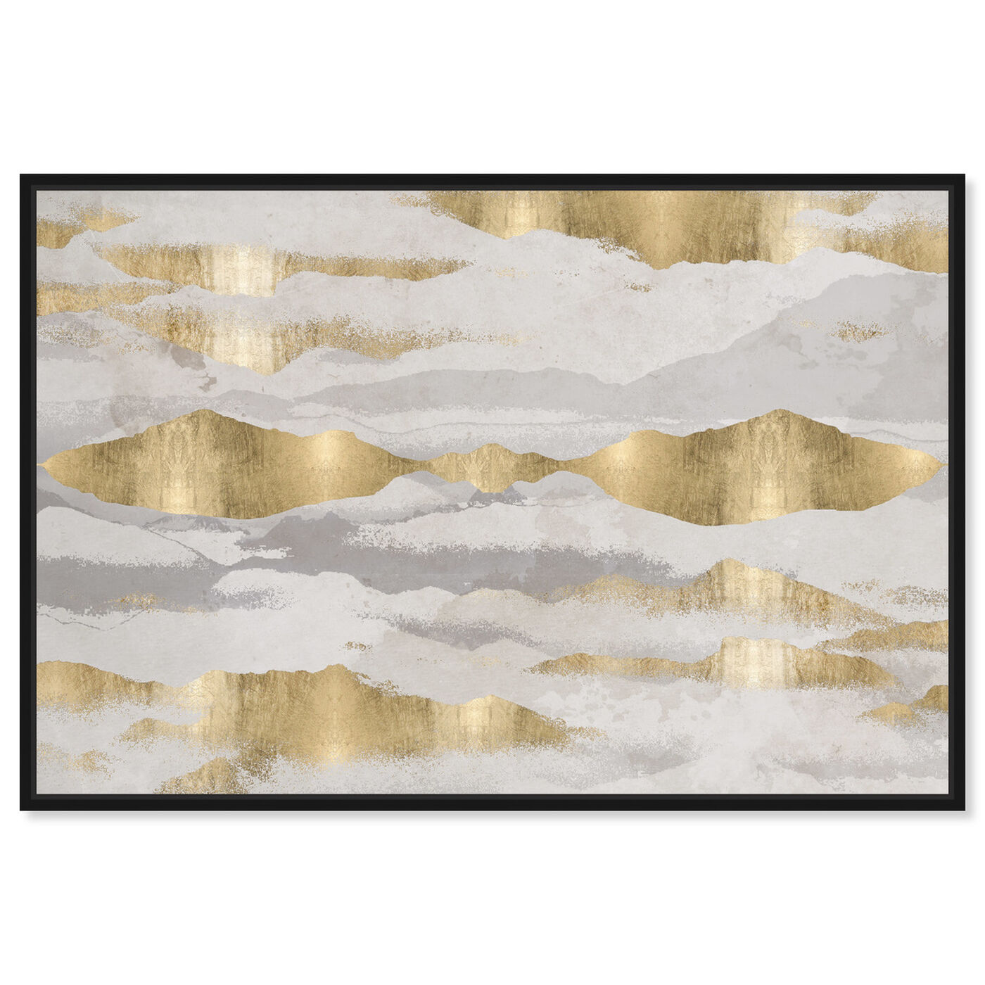 Front view of Mountains Of Life featuring abstract and textures art.