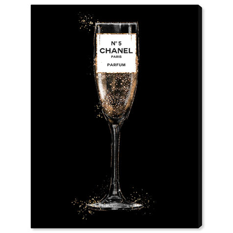 Glam Bubbly Champagne Perfume Black