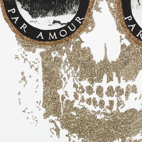 Razz-Dazz Shades Skull Gold