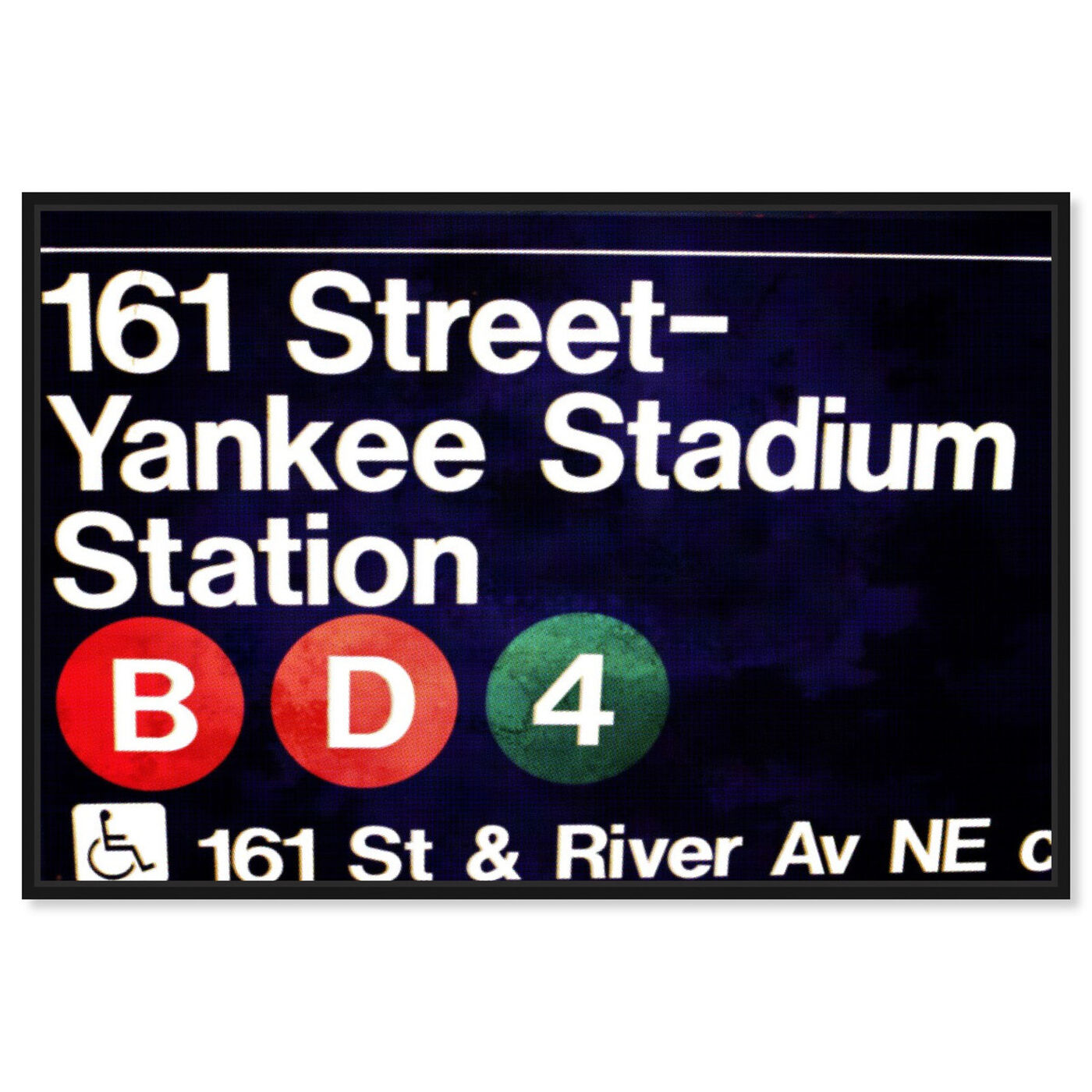 Front view of Yankee Stadium featuring architecture and buildings and structures art.