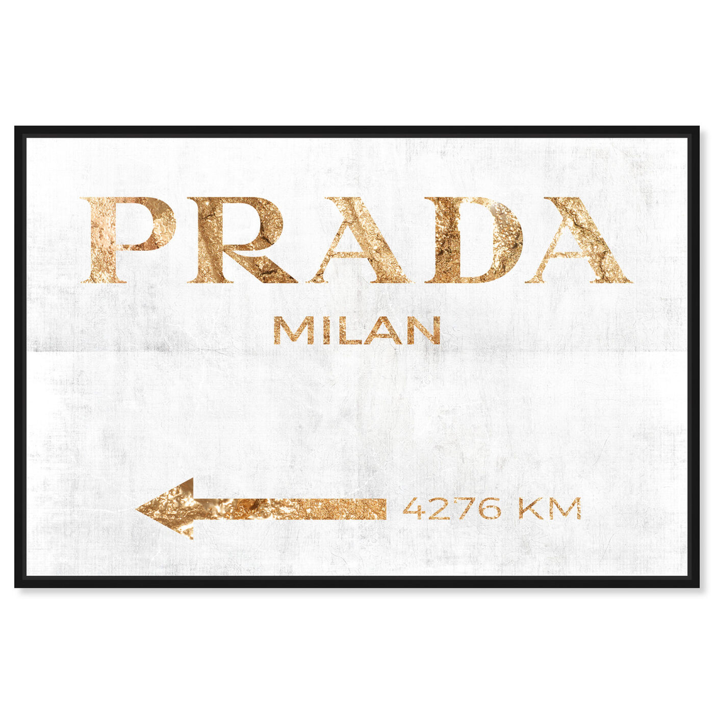 Front view of Milan Pure Inverse featuring fashion and glam and road signs art.