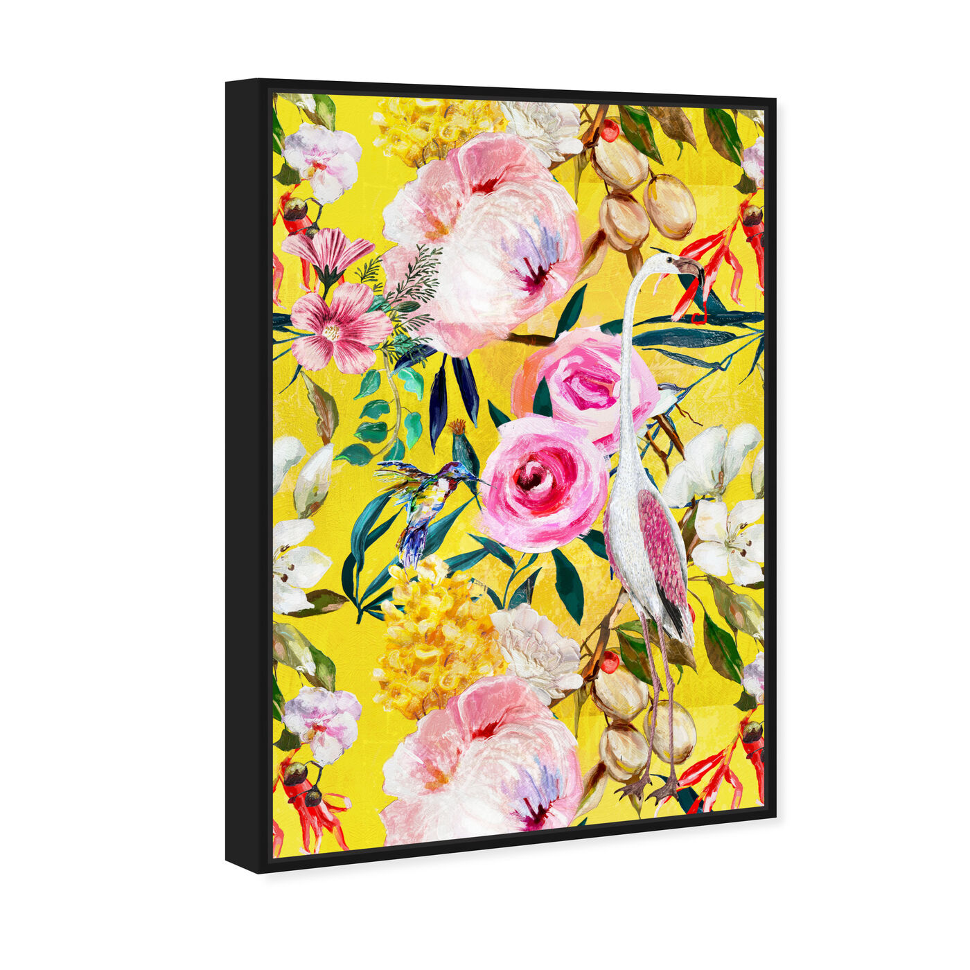 Angled view of Le Tropic featuring floral and botanical and florals art.