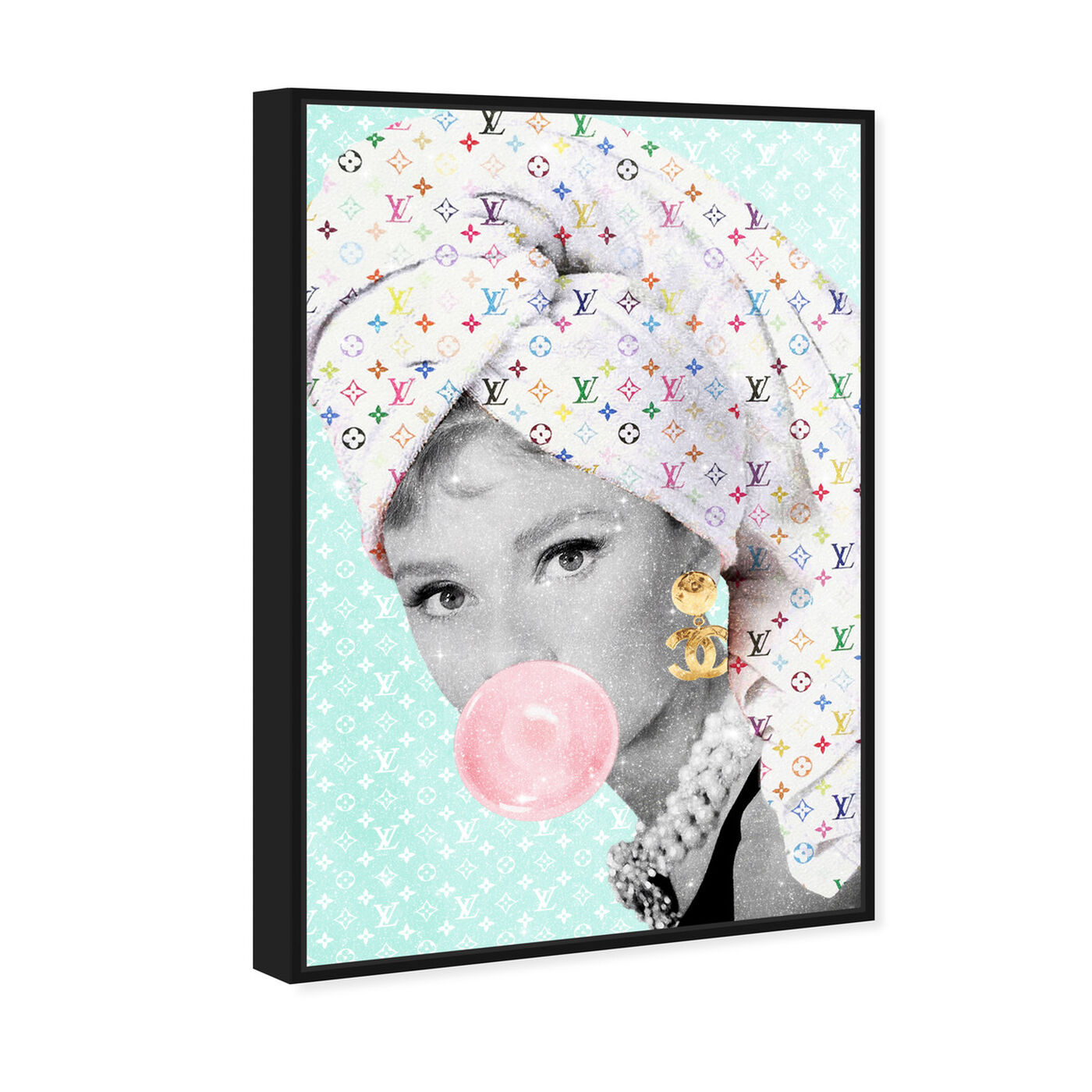 Angled view of Glam Spa Star featuring fashion and glam and portraits art.