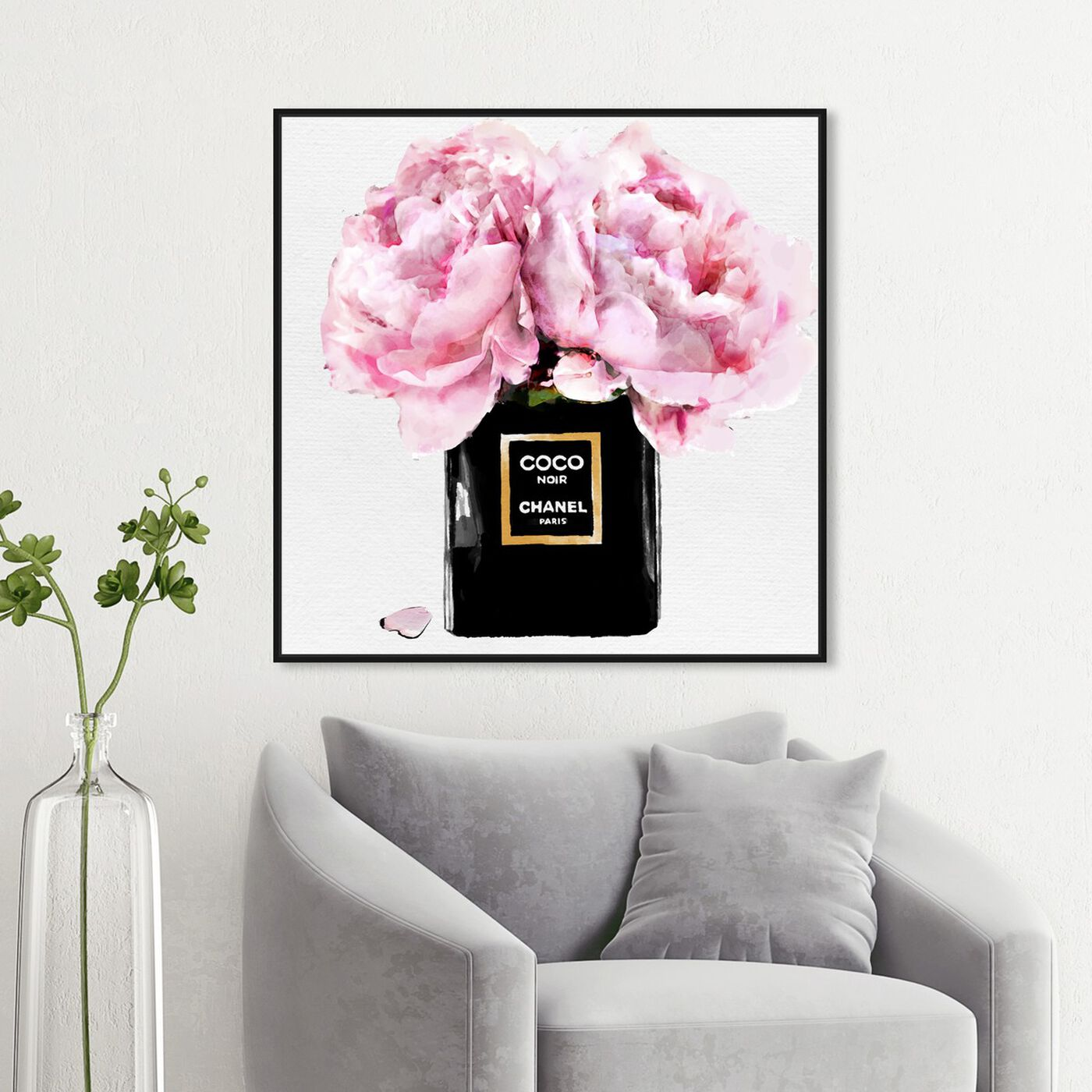 Hanging view of Dawn Bouquet Spring featuring fashion and glam and perfumes art.