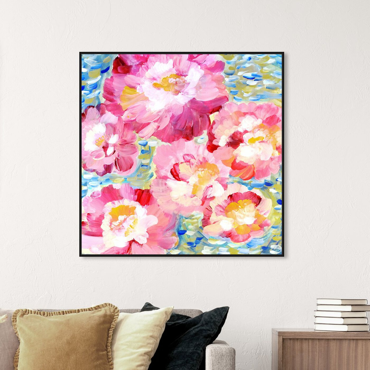 Hanging view of Garden of Hope IV featuring floral and botanical and gardens art.
