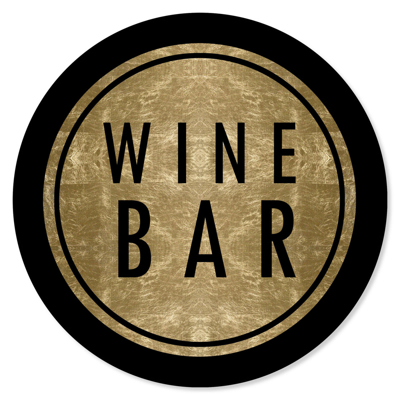 Front view of Vintage Winebar Circle featuring drinks and spirits and wine art.