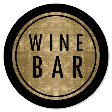 Vintage Winebar Circle