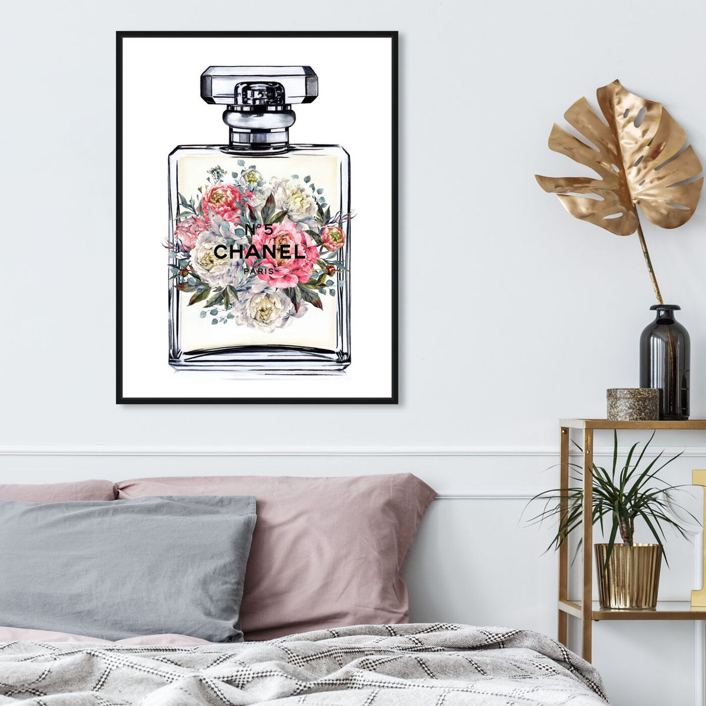 Hanging view of Doll Memories - Fashion's Fragrance featuring fashion and glam and perfumes art.