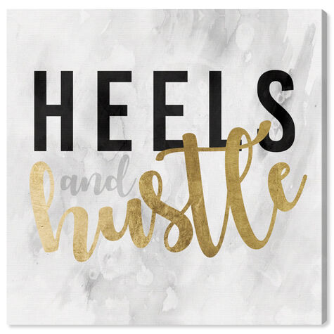 Heels and Hustle Gold