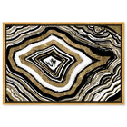 Front view of Unalterable Geode featuring abstract and crystals art. image number null