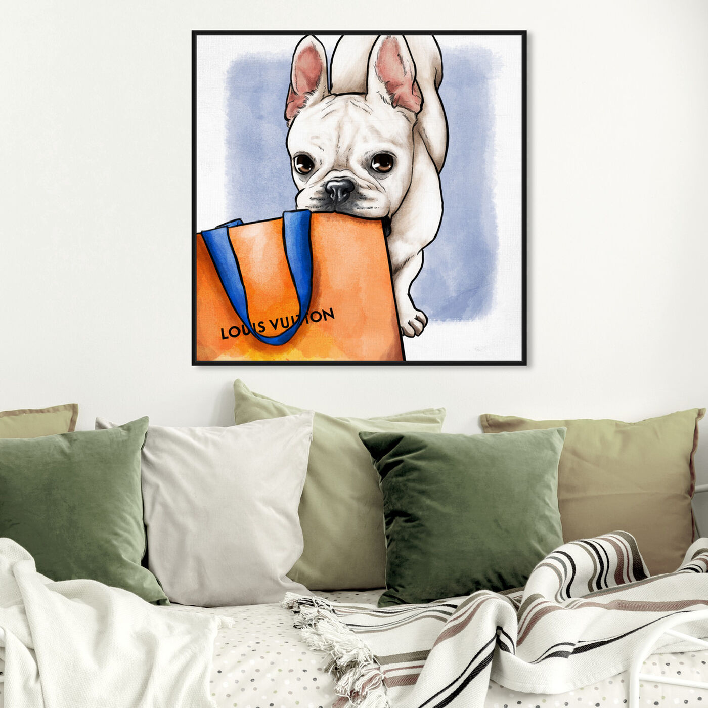 Hanging view of Shop Ready Frenchie featuring fashion and glam and fashion lifestyle art.