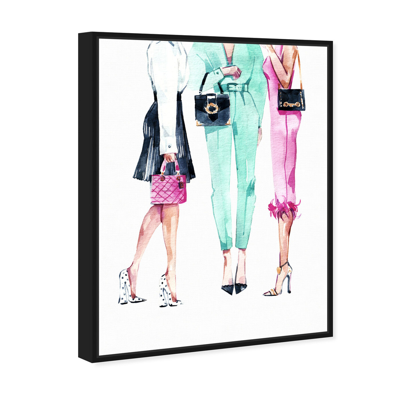 Angled view of Ladies Like Us featuring fashion and glam and outfits art.
