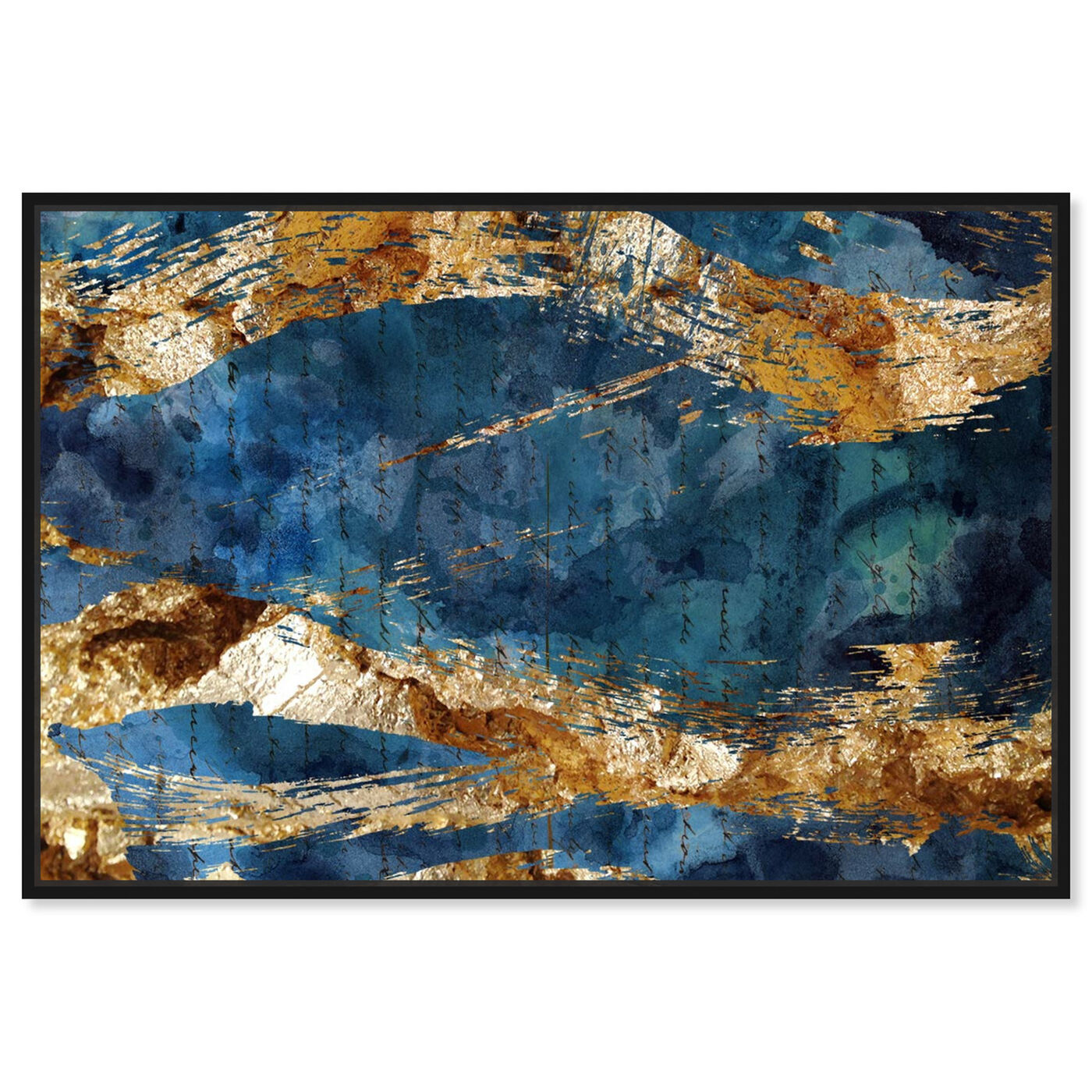 Front view of Marea Alta - Signature Collection featuring abstract and watercolor art.