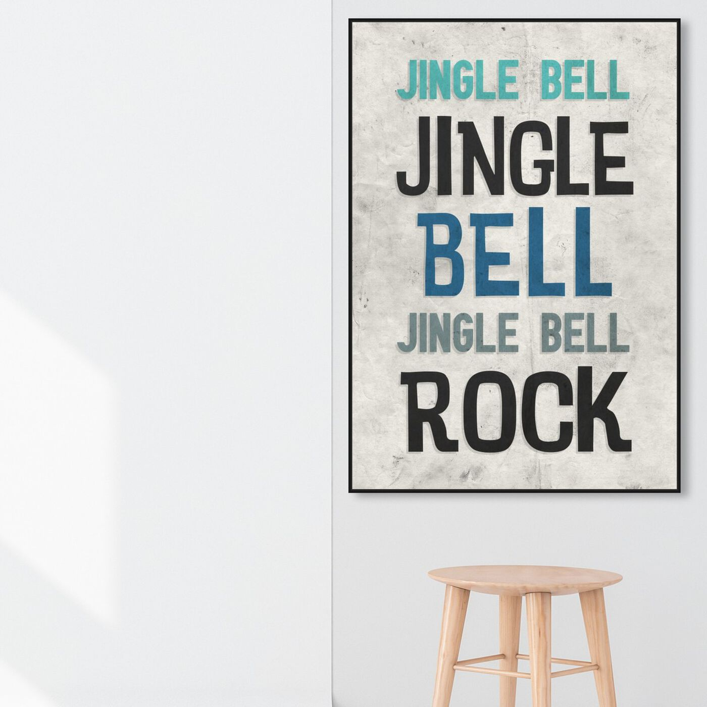 Hanging view of Jingle Bell Rock featuring holiday and seasonal and holidays art.