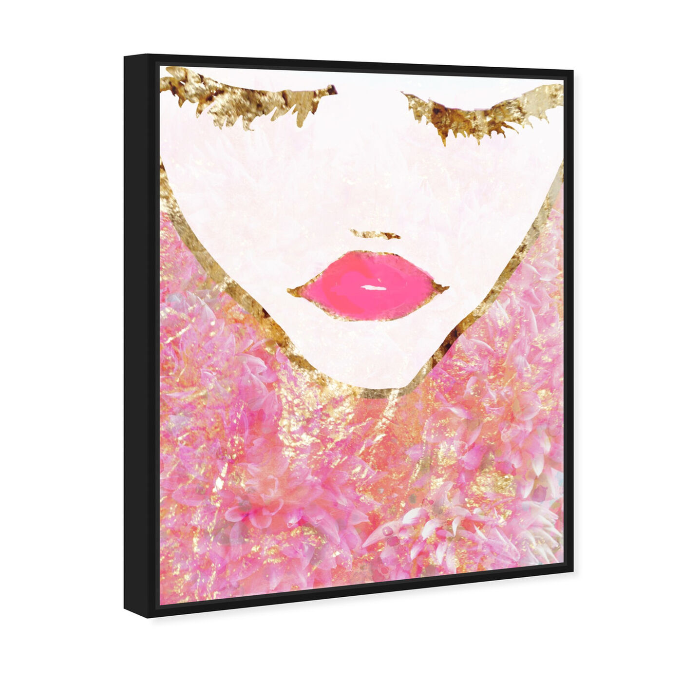 Angled view of Goldbloom Coveted featuring fashion and glam and portraits art.
