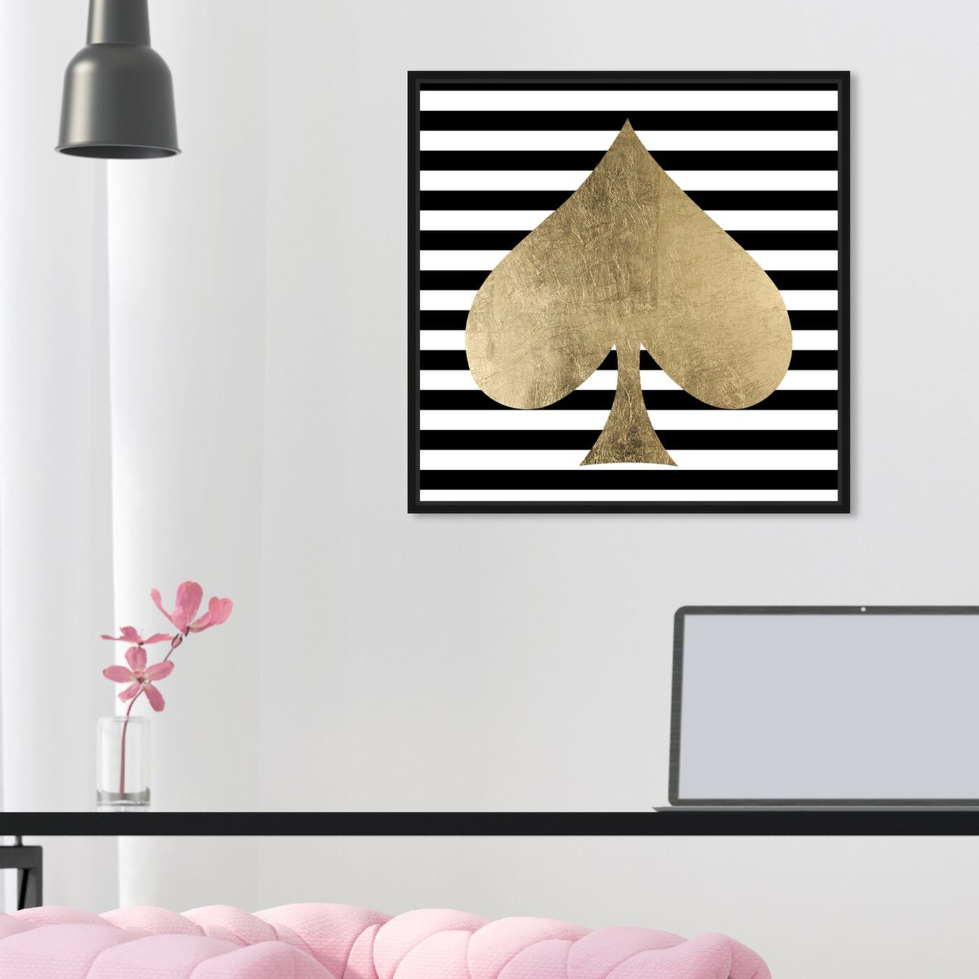 Hanging view of The Spade featuring fashion and glam and fashion art.