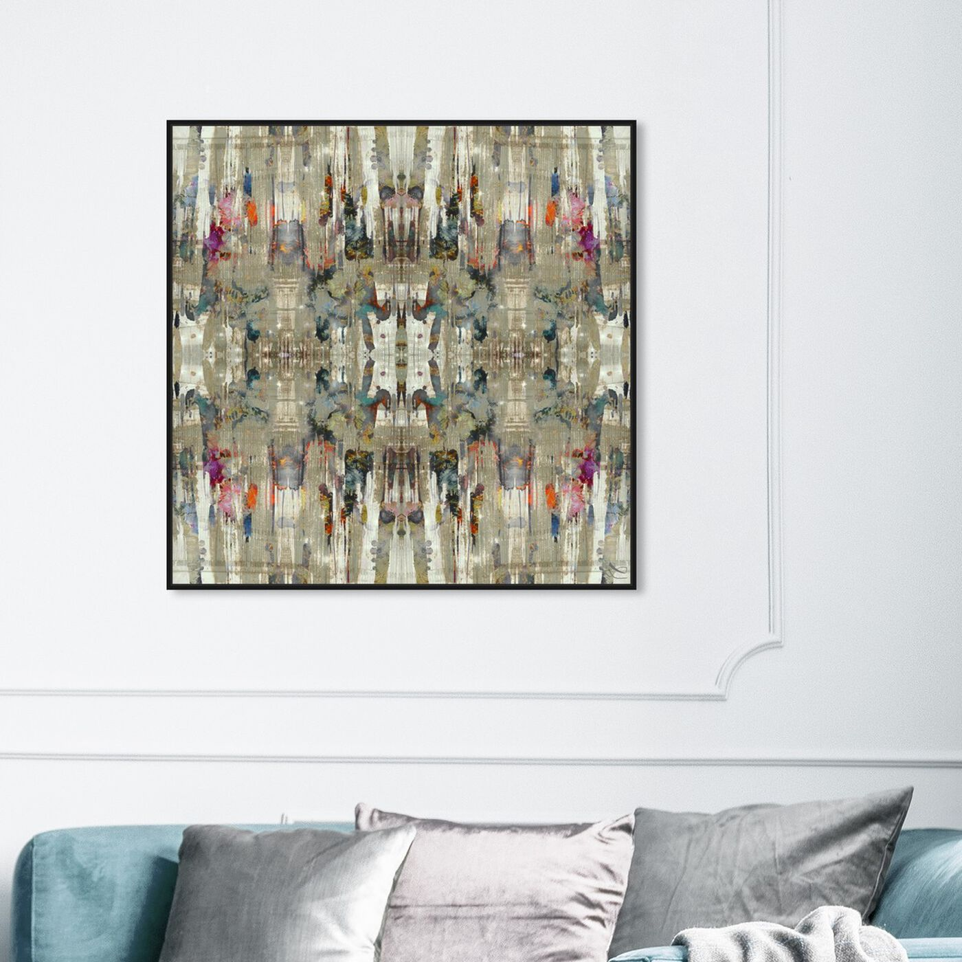 Hanging view of Avantgarde featuring abstract and patterns art.