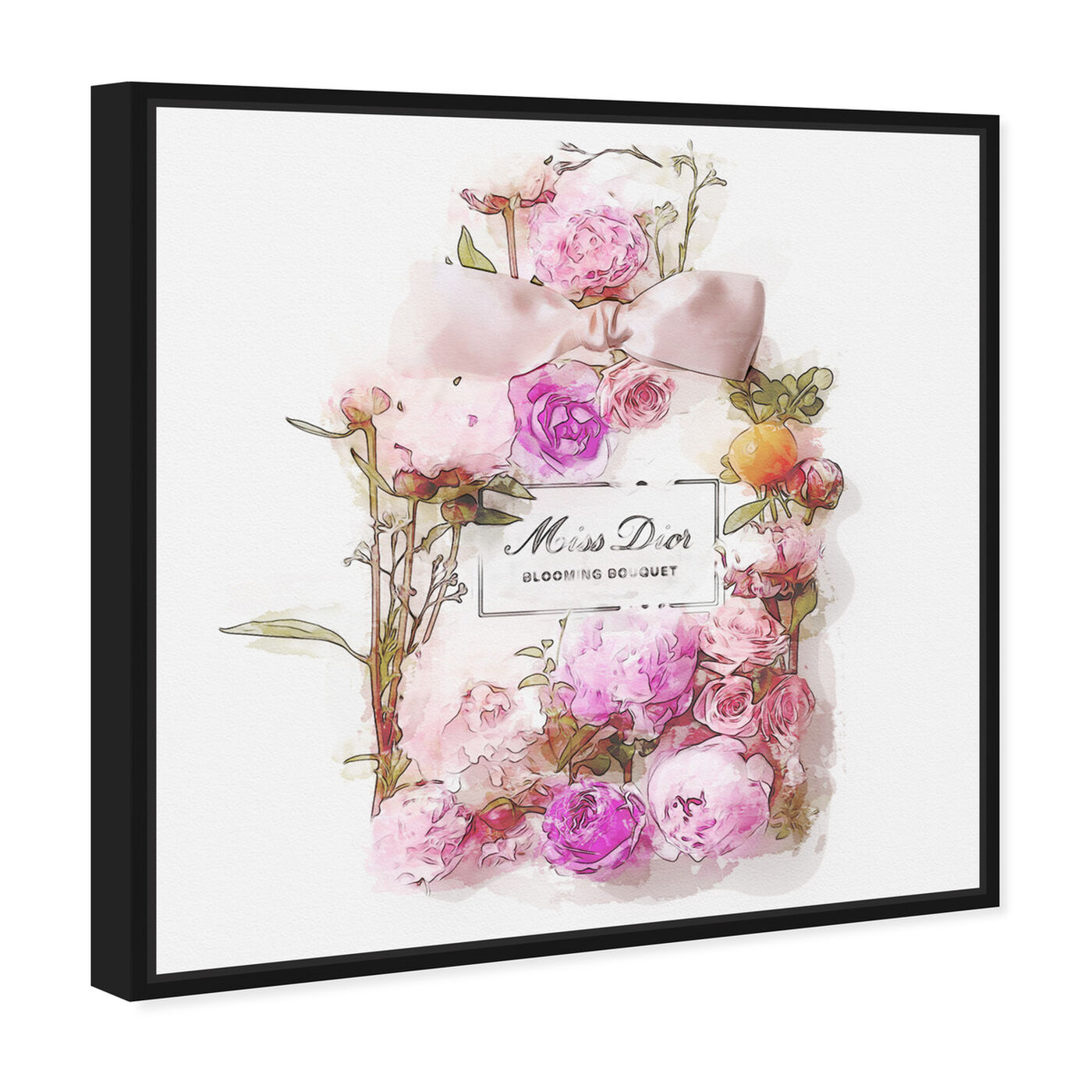 Angled view of Bouquet featuring fashion and glam and perfumes art.