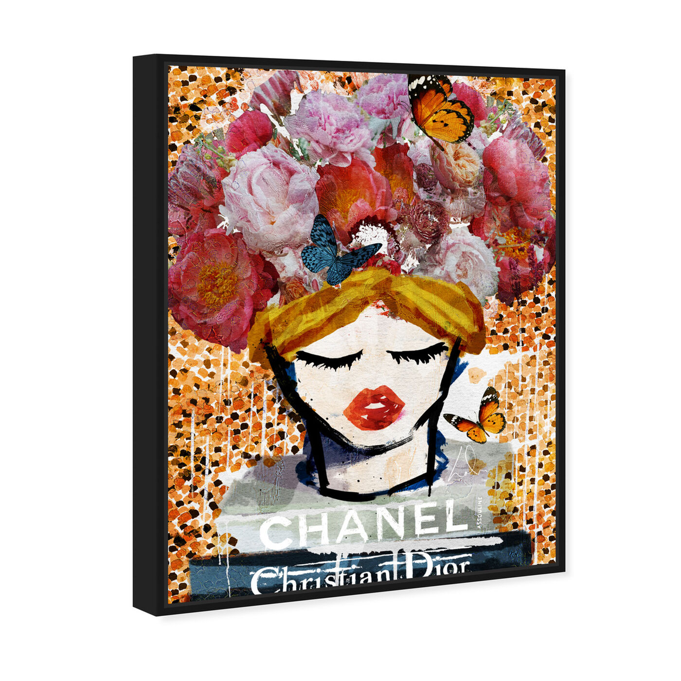 Angled view of Sicilian Vase featuring fashion and glam and books art.