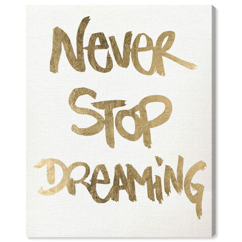 Never Stop Dreaming Snow