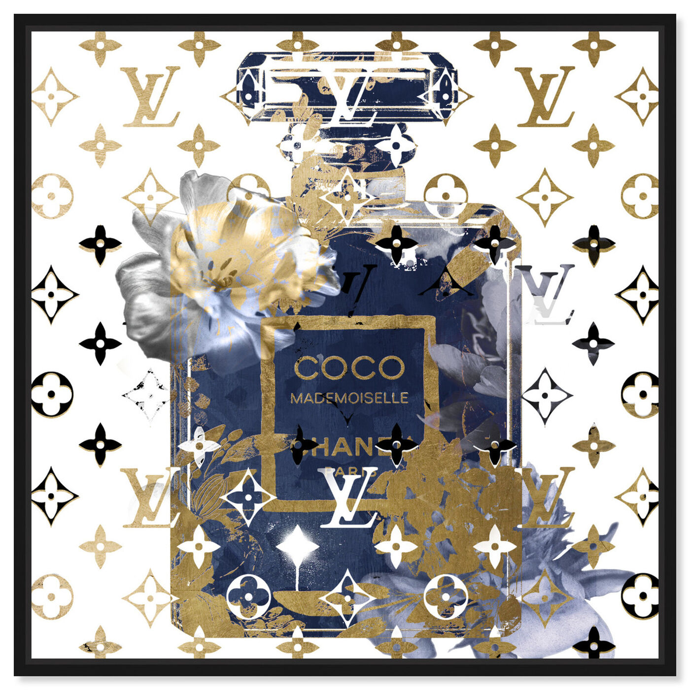 Front view of Coco Blinded Love Sapphire featuring fashion and glam and perfumes art.