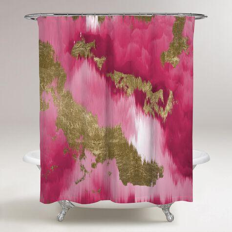Vivanti Gold Shower Curtain