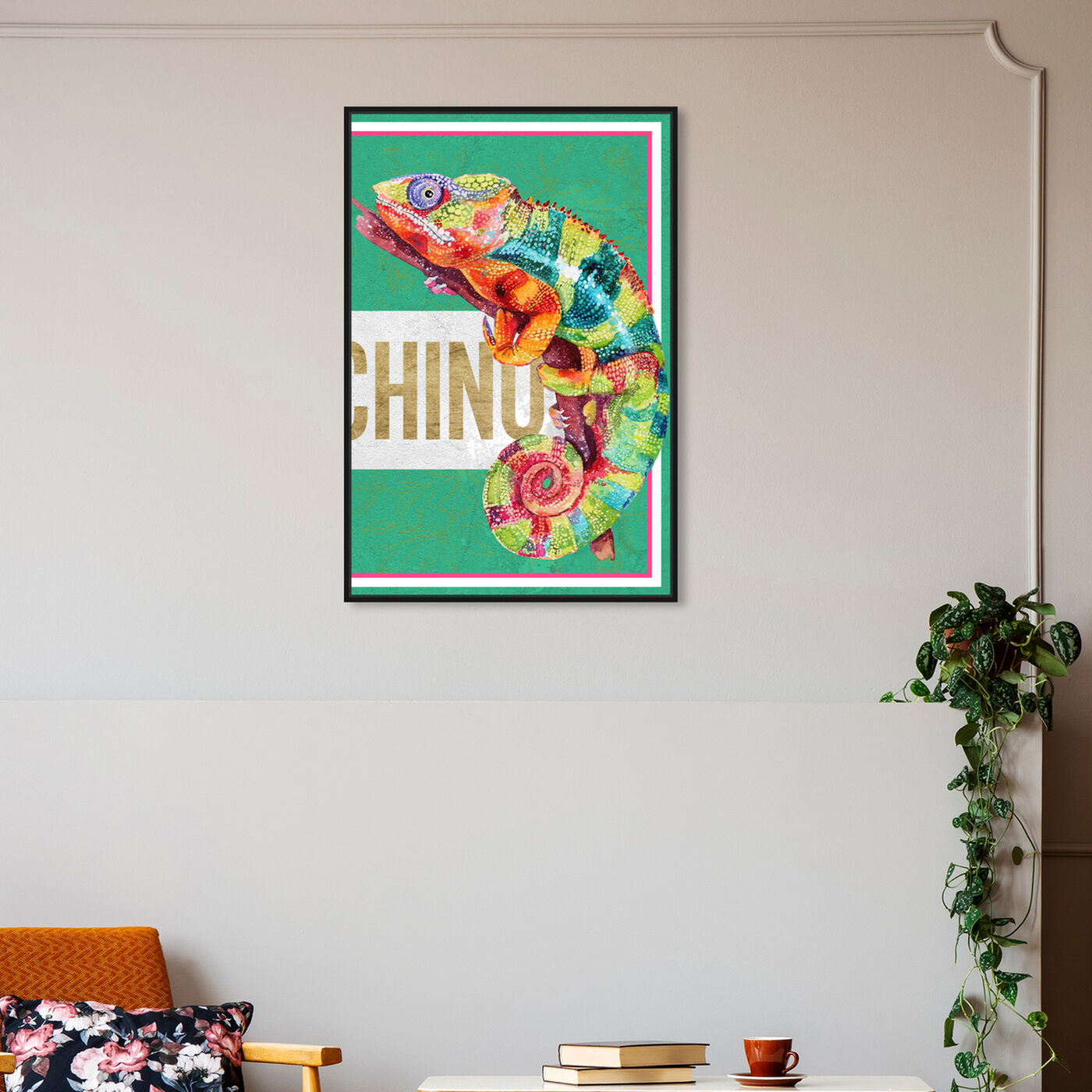 Hanging view of Colorful Right featuring fashion and glam and fashion lifestyle art.