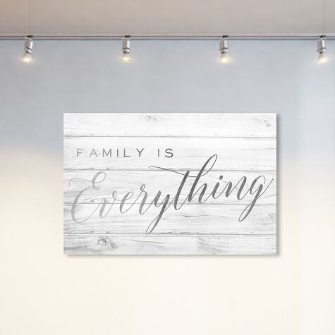 Family is Everything Silver