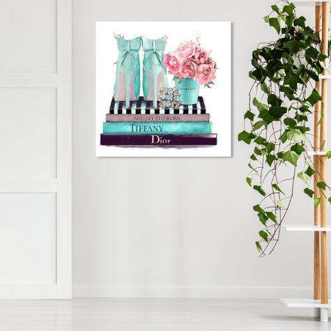 Modestly Aquamarine Display