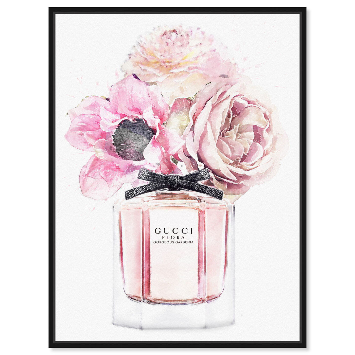 Front view of Gorgeous Gardenia Perfume featuring fashion and glam and perfumes art.