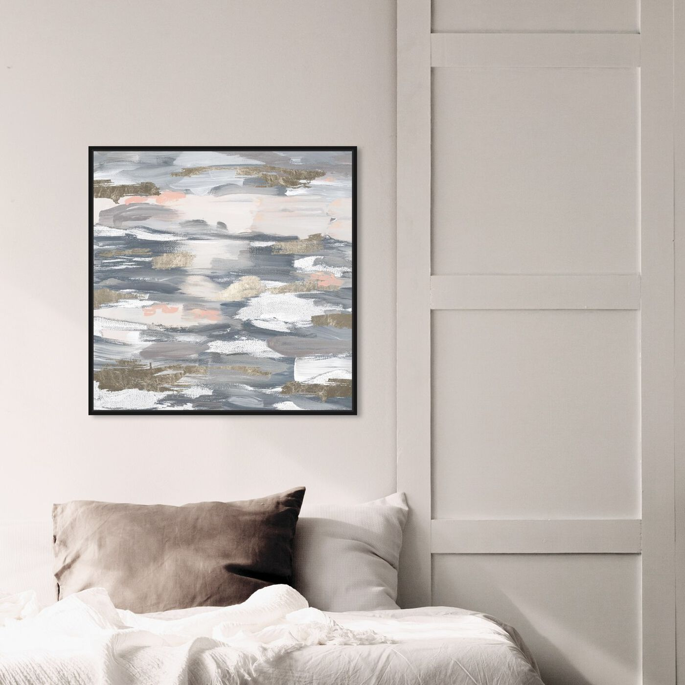 Hanging view of Beautiful Retreat featuring abstract and paint art.
