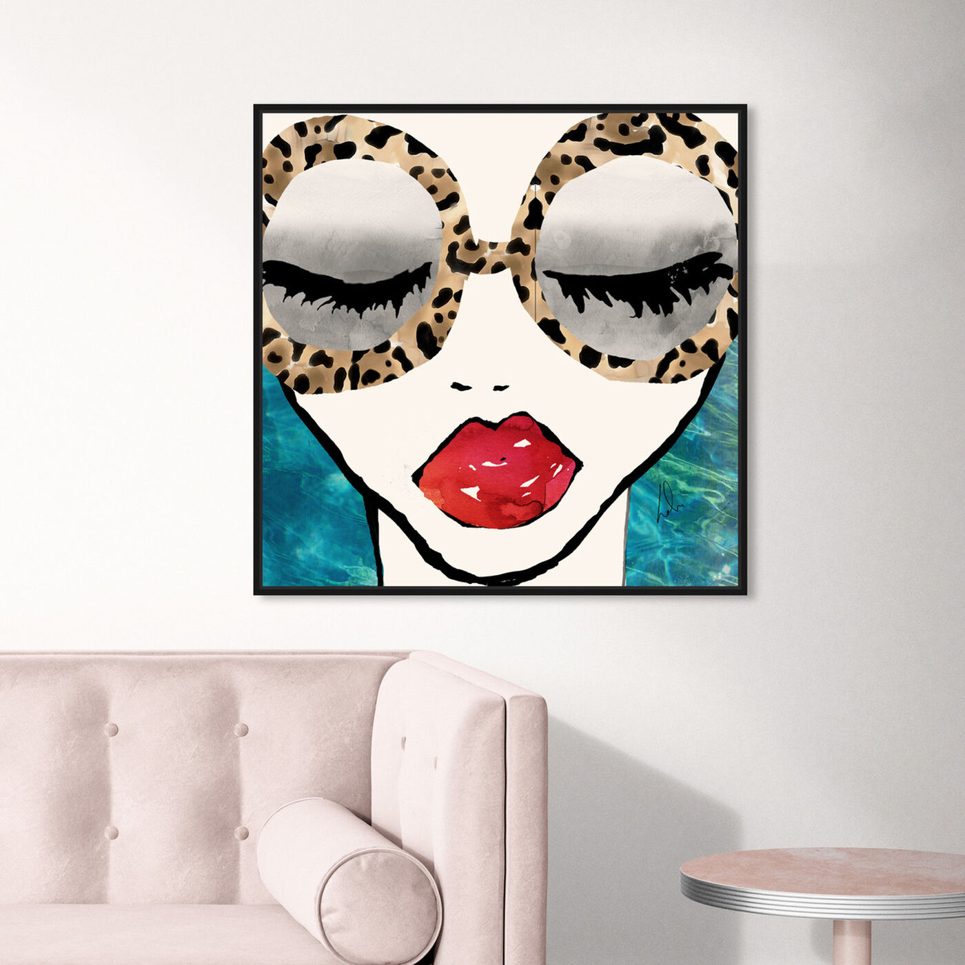 Hanging view of Ready for the Sea featuring fashion and glam and portraits art.