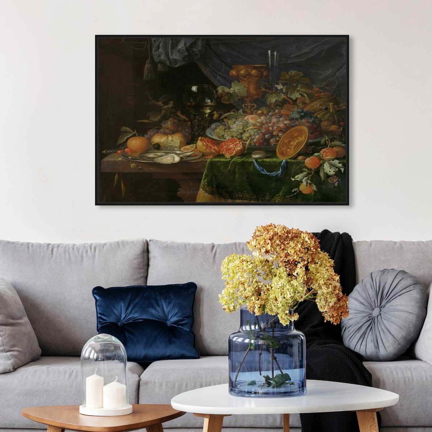 Hanging view of Fruit Arrangement - The Art Cabinet featuring classic and figurative and realism art.