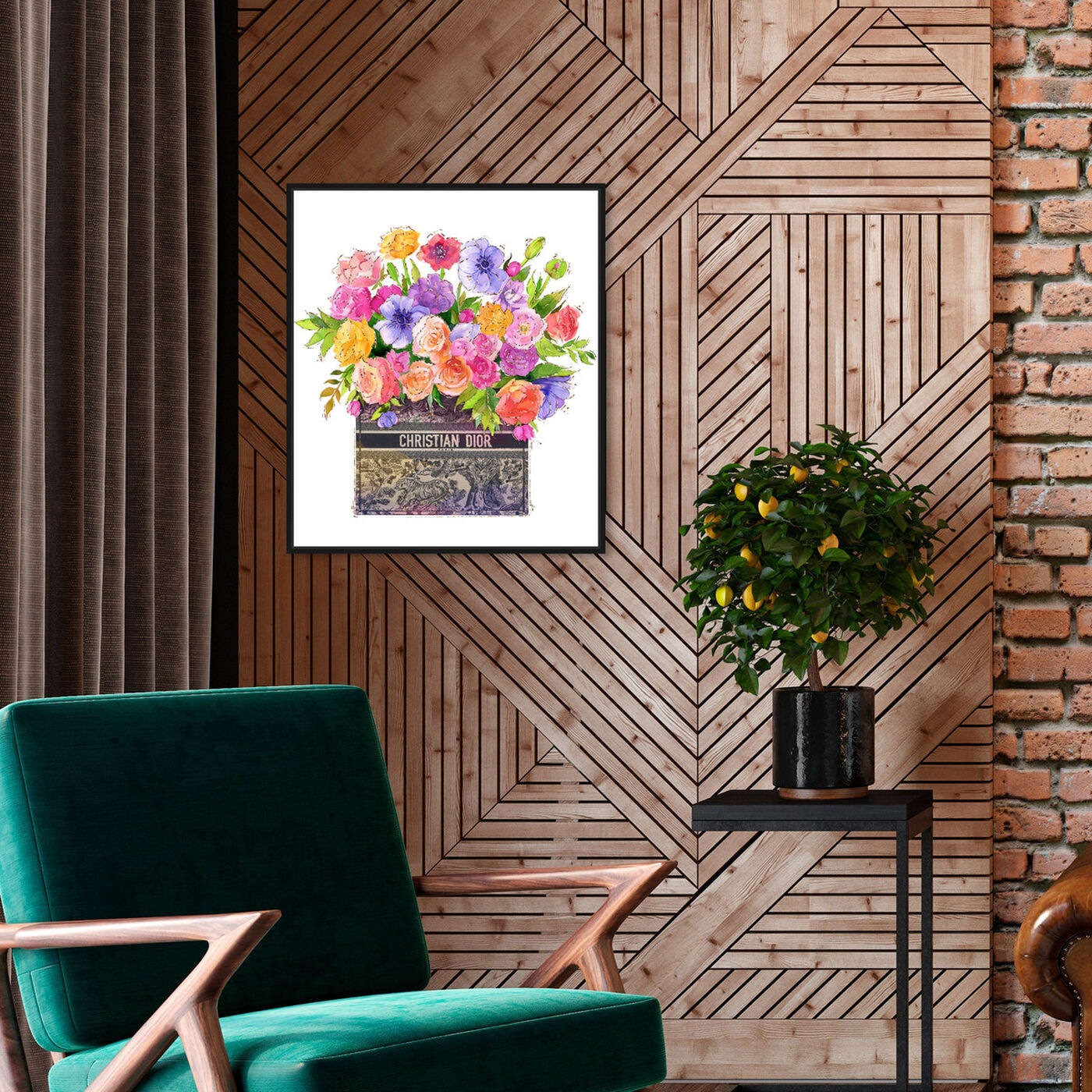 Hanging view of Colors For You featuring floral and botanical and florals art.
