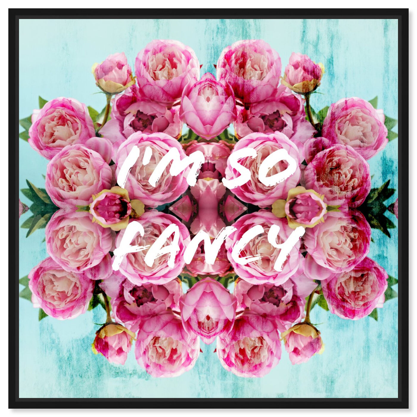 Front view of So Fancy I featuring typography and quotes and fashion quotes and sayings art.