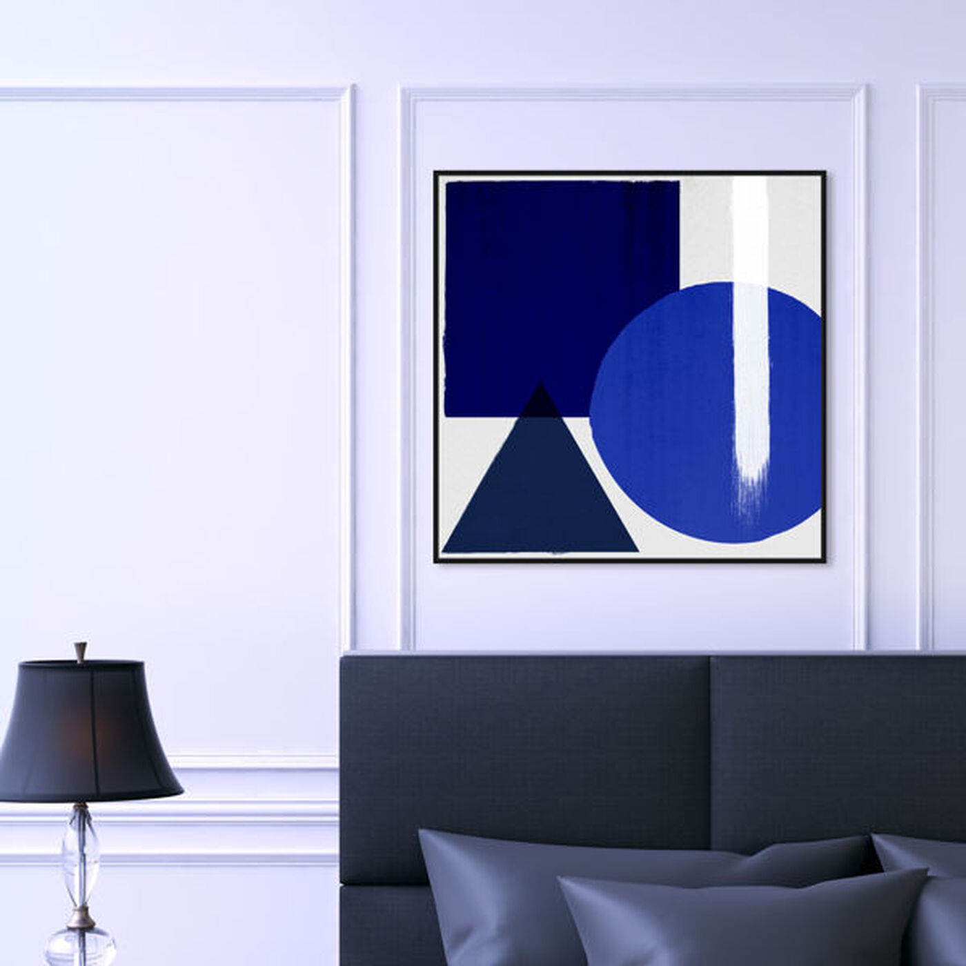 Hanging view of Côte d'Or featuring abstract and geometric art.