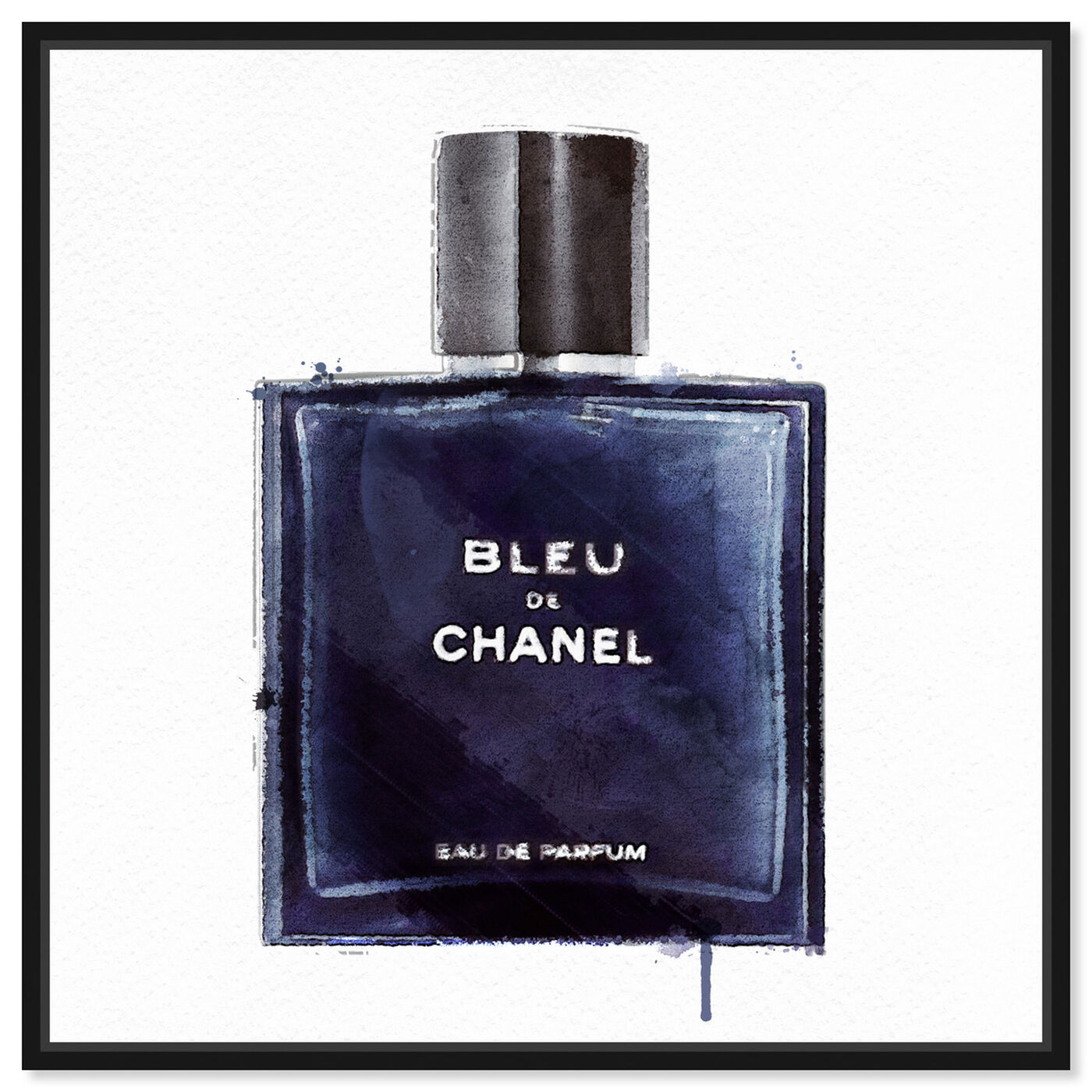Front view of Men Perfume Monsieur Bleu featuring fashion and glam and perfumes art.