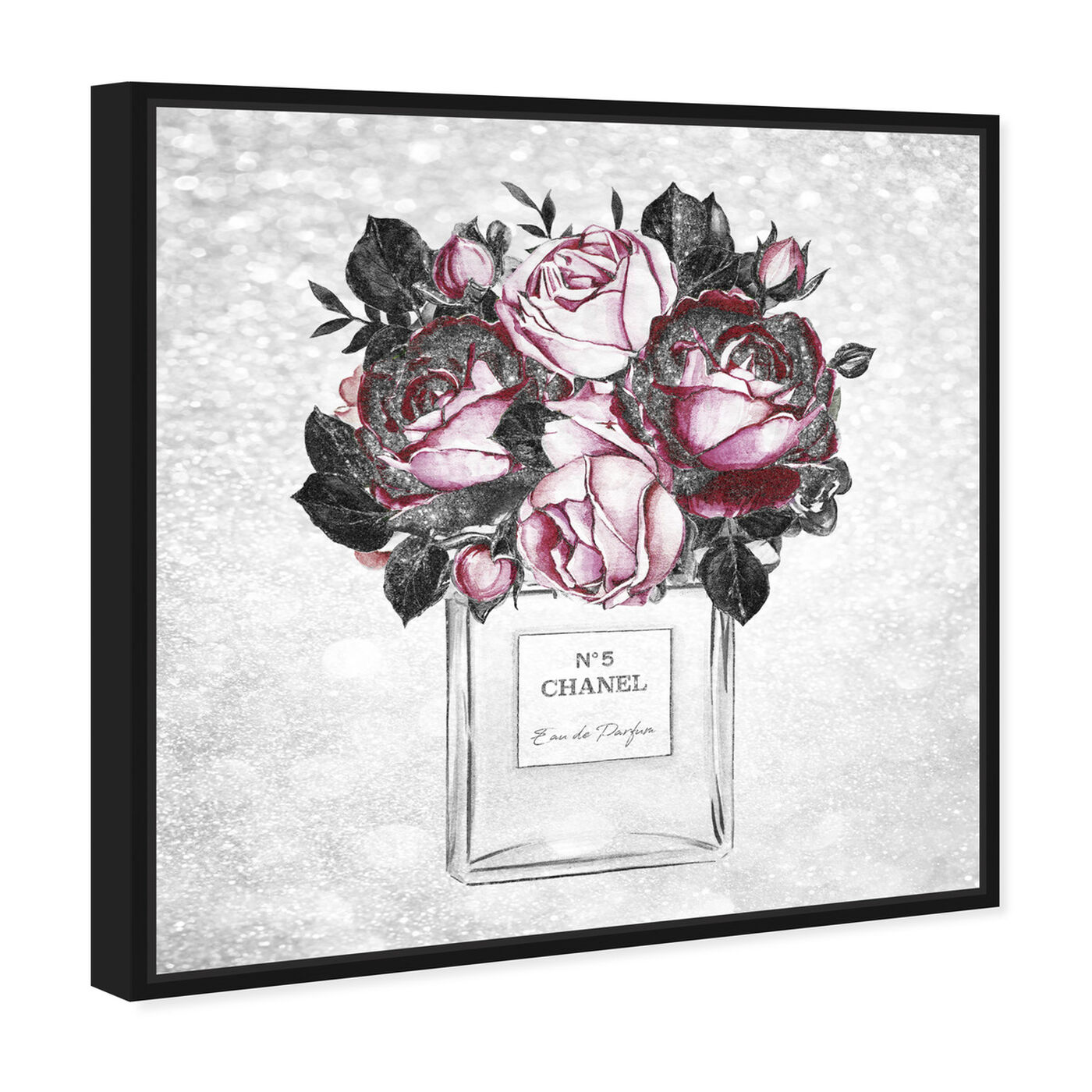 Angled view of Doll Memories - Touch of Rose Scent featuring fashion and glam and perfumes art.