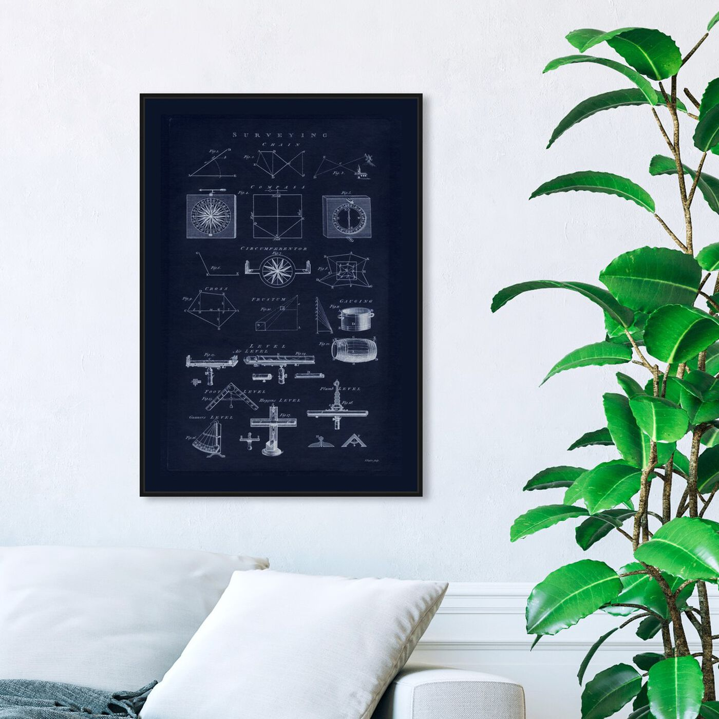 Hanging view of Surveying Astro featuring architecture and buildings and structures art.