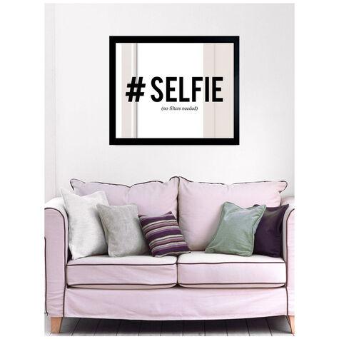 Hashtag Selfie Noir