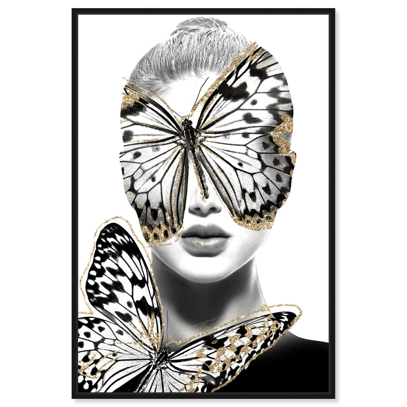 Front view of Duchess of Wings Blond featuring fashion and glam and portraits art.