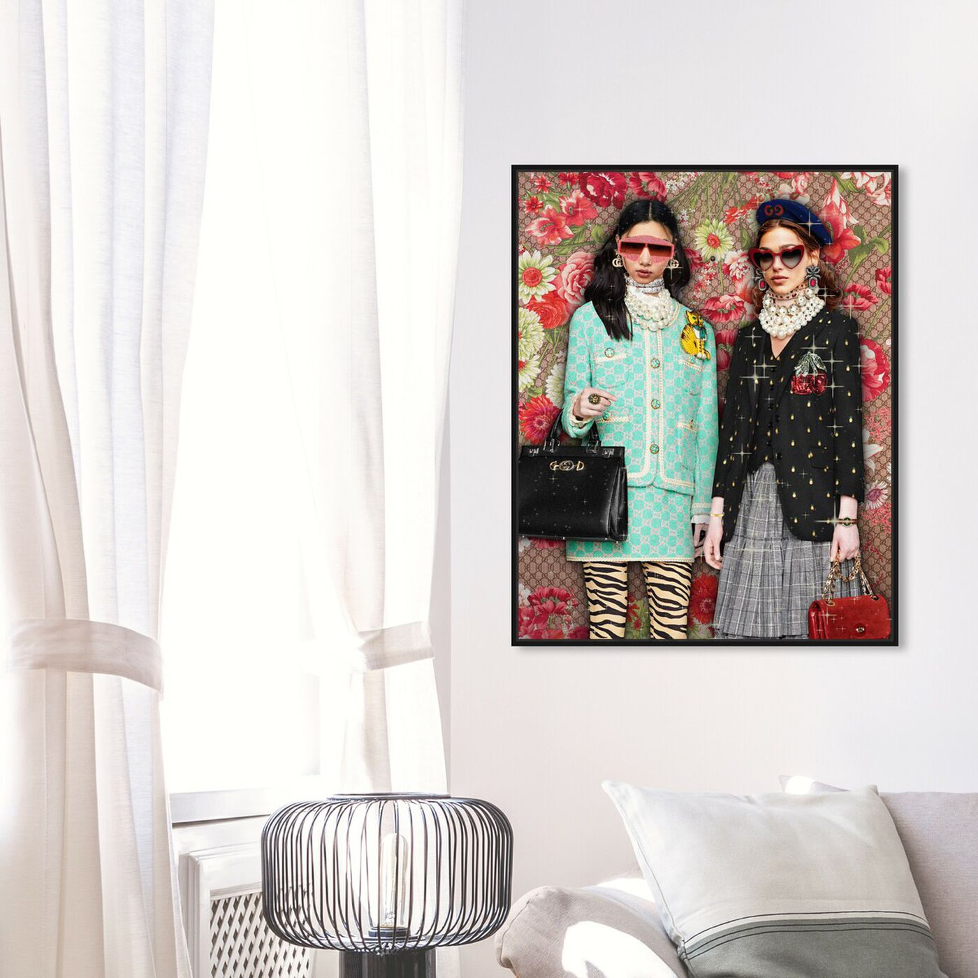 Hanging view of Cold Summer featuring fashion and glam and dolls art.